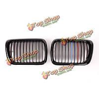 Спереди глянцевый черный M стиль почек гриль решетка радиатора для BMW е36 97-99