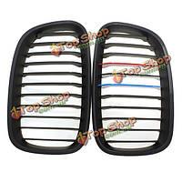 Матовый черный M-цвет передней почек гриль решетка для БМВ ф20 11-14