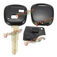 Дистанционный ключ оболочка резиновая колодка переключателей лезвие ремонтный комплект для Тойота ярис