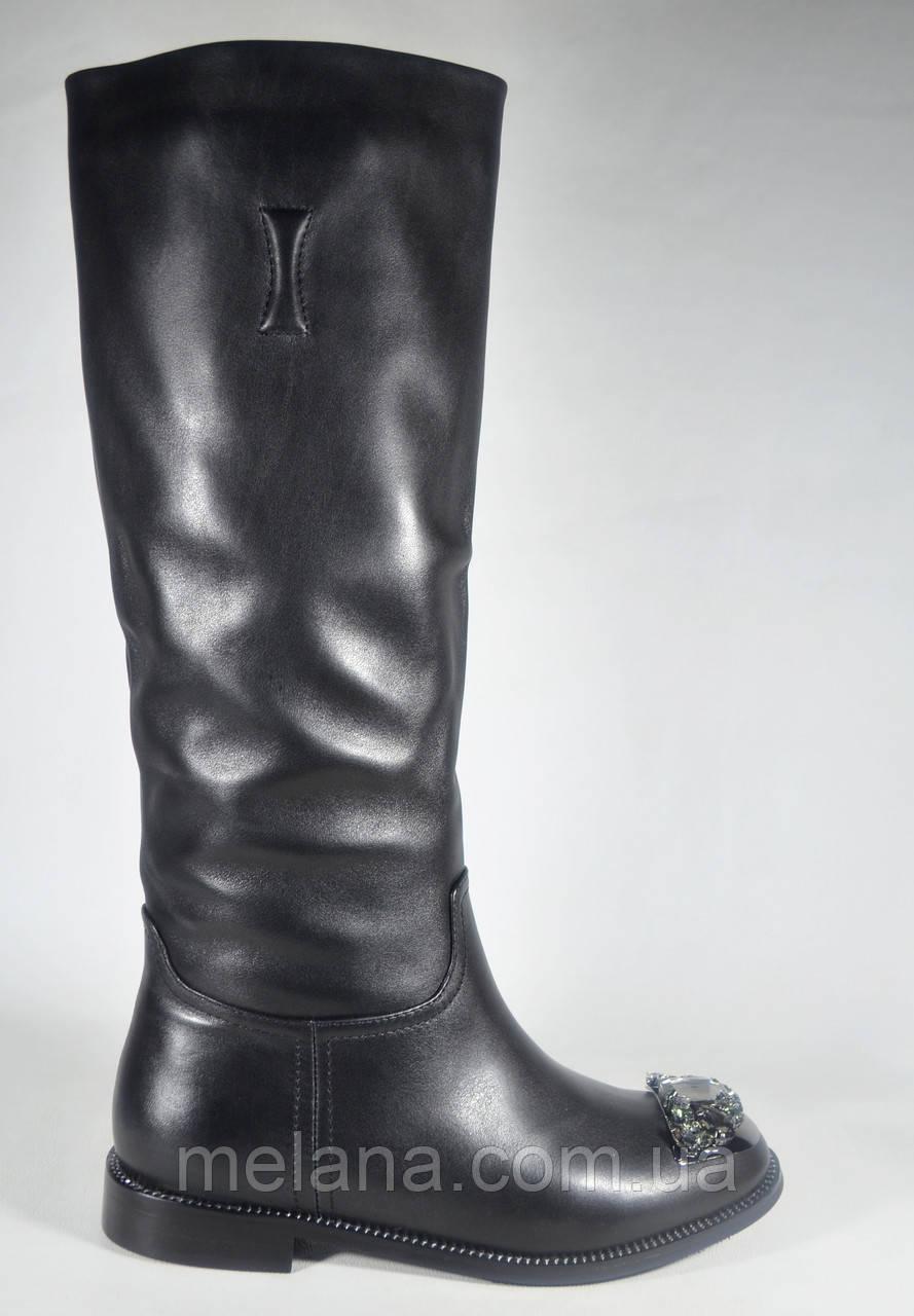 Кожаные сапоги женские Verendina шикарная модель - Интернет-магазин женской  обуви и аксессуаров