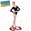 Купальники для танцев, гимнастики и хореографии, хлопок. L (рост 146-155 см)  XL (рост 155-164 см)