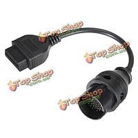 38 контактный к 16-контактный obdii диагностический кабель-адаптер для BENZ МЕРСЕДЕС