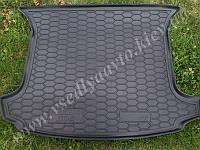 Коврик в багажник PEUGEOT 308 универсал 5 мест c 2008 г. (AVTO-GUMM) пластик+резина
