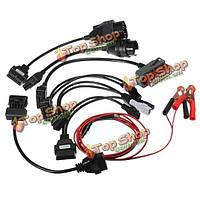8 автомобильный адаптер кабелей для autocom CDP профессиональный диагностический интерфейс кабель
