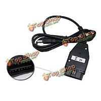 VAG-com USB интерфейсом kkl vag-com кабельные для vw audi
