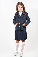 Школьный пиджак Микрус для девочки