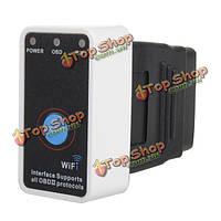 Wi-Fi Mini elm327 адаптером кабель obd2 автомобиля детектор поддержка iPhone андроид iPad
