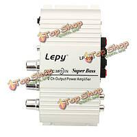 Lepy lp808 автомобиль мотоцикл 12v CD DVD автомобильного аудио мини-привет-Fi стерео усилитель мощности звуковой
