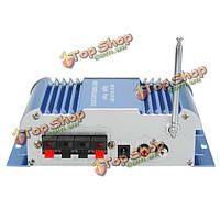 Мини Hi-Fi Цифровой FM-радио USB SD аудио mp3 плеер автомобильный усилитель мощности ж / пульт дистанционного