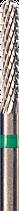 Фреза с крупной крестообразной нарезкой