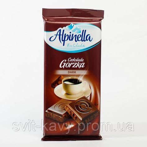 "Шоколад ""Alpinella""  Gorzka 90 г, фото 2"