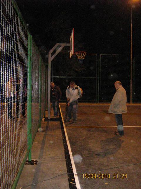 Уличная баскетбольная площадка 7