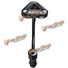 Автомобильный комплект беспроводной MP3-плеер FM передатчик USB ТФ автомобильное зарядное устройство пульт дистанционного управления с функ, фото 3