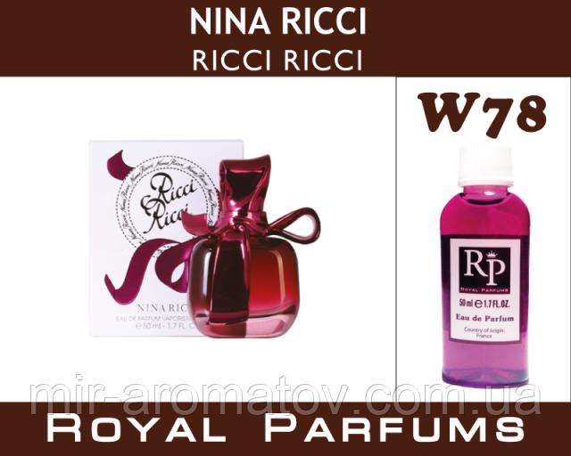 Женские духи на разлив Royal Parfums  Nina Ricci «Ricci Ricci»  №78   35 мл