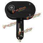 Автомобильное зарядное устройство беспроводной передатчик FM модулятор MP3-плеер громкой связи с функцией Bluetooth, фото 4