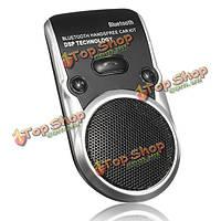 Беспроводная связь Bluetooth автомобильный комплект громкой связи динамик телефона солнцезащитный козырек панели клип ж / микрофон