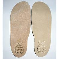 Стелька для обуви, кожа,разм от 18 до 36