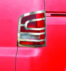 Накладки на задні ліхтарі VW T5 Multivan 2010+ (2 шт.)