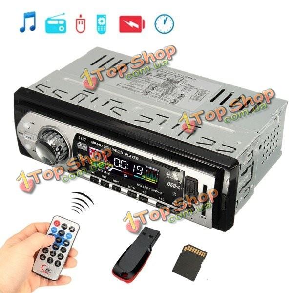 Автомобиль авто стерео аудио в тире вход AUX приемник с.о. USB MP3-плеер FM-радио - ➊TopShop ➠ Товары из Китая с бесплатной доставкой в Украину! в Киеве