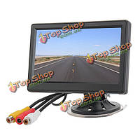 5-дюймов автомобиля безопасности ditigal TFT ЖК-дисплей заднего вида монитор обратном