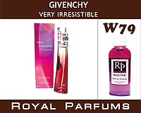 Духи Royal Parfums (рояль парфумс)  Givenchy VERY IRRESISTIBLE. Живанши Вери  100 мл