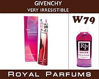 Женские духи на разлив Royal Parfums Givenchy VERY IRRESISTIBLE.  №79   100мл