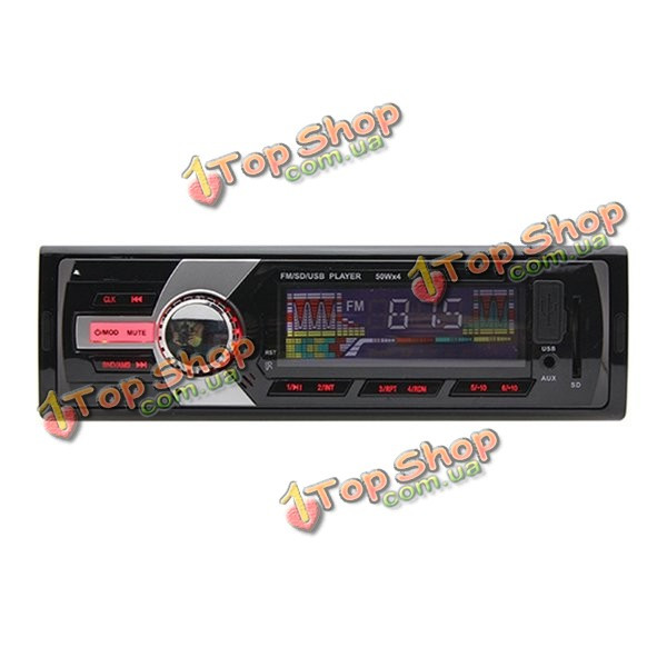 12v красный одного автомобиля гама головное аудио стерео радио MP3-плеер AM FM AUX USB SD - ➊TopShop ➠ Товары из Китая с бесплатной доставкой в Украину! в Киеве
