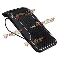 Беспроводная Bluetooth телефон громкоговоритель динамик громкой связи Автомобильный комплект козырек клип