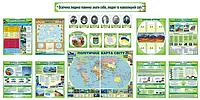Комплект стендов для географии (новый)