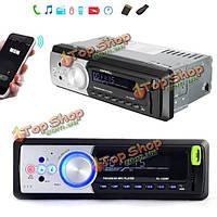Автомобиля Bluetooth Handsfree FM transmittert mp3 радио стерео аудио плеер в тире SD USB AUX 12v