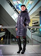 Красивый зимний пуховик Зимнее пальто Большие размеры
