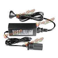 60Вт 220В к 12v инвертор питания питания передачи использования авто автомобиль к бытовым адаптером