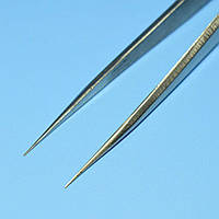 Пинцет радиотехнический 125мм прямой узкий R'Deer  RST-12  12-0552
