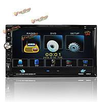 2DIN 7-дюймов HD в тире стерео mp5 MP3 CD DVD-плеер с сенсорным экраном вход AM FM AUX