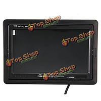 7-дюймов TFT ЖК-монитор вид сзади автомобиля VGA DVD видеомагнитофон для обратного резервной камерой