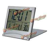 Настольные часы календарь Дата цифровой сигнал по Цельсию по Фаренгейту thermom
