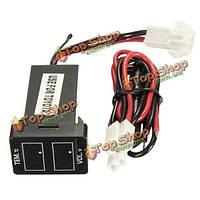LED Цифровой вольтметр напряжения термометр монитор для Toyota Камри венчика
