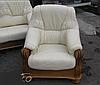 Классическое кожаное кресло ADAM (90 см), фото 6