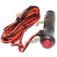 Автомобиль шнур прикуривателя силовой кабель провод 3м тока