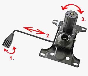 Купить механизм качания кресла