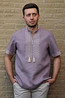 Чоловіча вишиванка з коротким рукавом