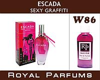 Духи Royal Parfums (рояль парфумс)Escada «Sexy Graffiti» (Эскада Секси Графити)  100 мл
