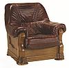 Польское кожаное кресло ANETA I, II (90 см), фото 3