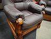Польское кожаное кресло ANETA I, II (90 см), фото 4