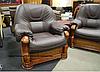Польское кожаное кресло ANETA I, II (90 см), фото 5
