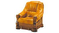 Мягкое кожаное кресло BOZENA (90 см)