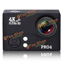 PRO 4 4k Wi-Fi камера действия 2-дюймов ЖК-дисплей ультра-HD 1080p спорт видео водонепроницаемая камера