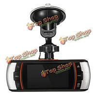 2.7-дюймов 1080p HD двойной объектив 140° автомобиль автомобиль тире камера цифровая DVR ночного видения