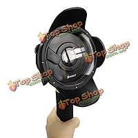 Портативный купол порт спорта камера действия объектива корпус для подводного плавания под водой Xiaomi Yi камера