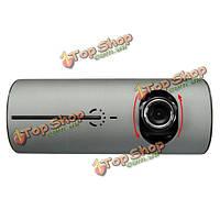 2.7-дюймов HD двойной объектив Автомобильный видеорегистратор тире Вебкамеры видео рекордер g датчик GPS